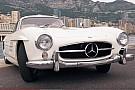 OTOMOBİL Nico Rosberg'in martı kanatlı 1955 Mercedes 300SL'ine göz atın