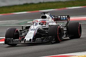 Kubica a été choqué par le poids des F1