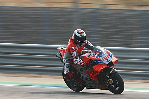 Lorenzo henüz Ducati GP18'de rahat değil