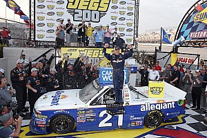 NASCAR Truck Race report Sauter takes Dover Truck win after contact with Gragson