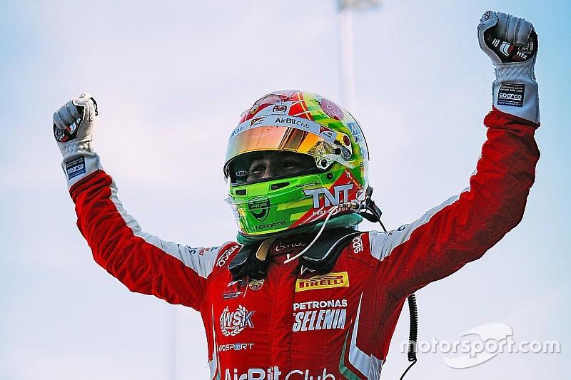 Ferrari junior Fittipaldi takes Italian F4 title