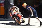 """MotoGP Pedrosa: """"Lo paso mal en las curvas a la derecha al abrir la pierna"""""""