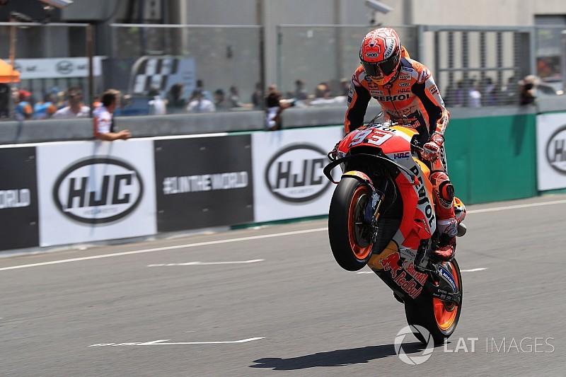 Márquez pede para Honda trabalhar no chassi