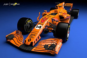 Formula 1 Special feature What a papaya orange 2018 McLaren F1 car could look like