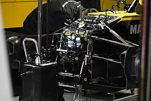 Forma-1 Elemzés Lesifotó: A Renault érdekes első felfüggesztése - vajon szabályos is?