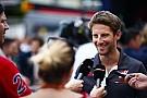 Formule 1 Grosjean :