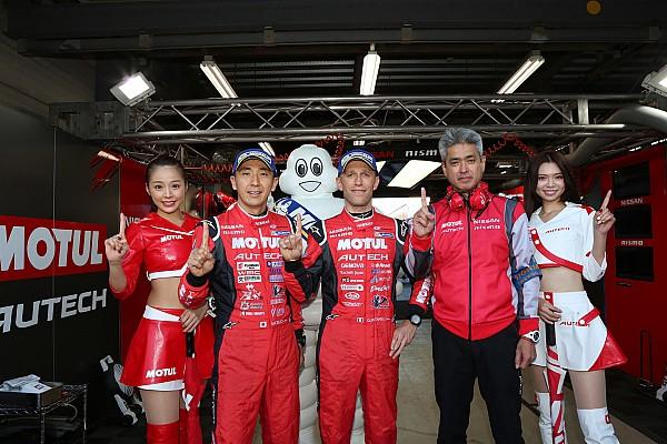 Super GT Motegi Super GT: Nissan takes crucial pole in finale