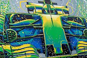 Arte en las carreras: lo que se pintó en la F1 en la temporada 2017
