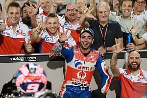 """MotoGP Noticias Petrucci: """"La victoria se la van a jugar Dovizioso y Márquez al final"""""""