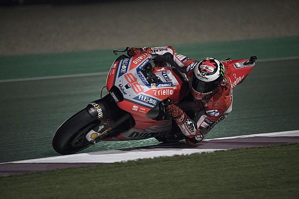 MotoGP Reaktion Jorge Lorenzo in Katar: Defekte Vorderbremse bedeutet frühes Aus