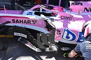 Formula 1 Analisi Force India: quante novità aerodinamiche sulla VJM11 (e non solo)