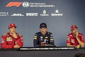 Formula 1 Press conference Austrian GP: Post-race press conference