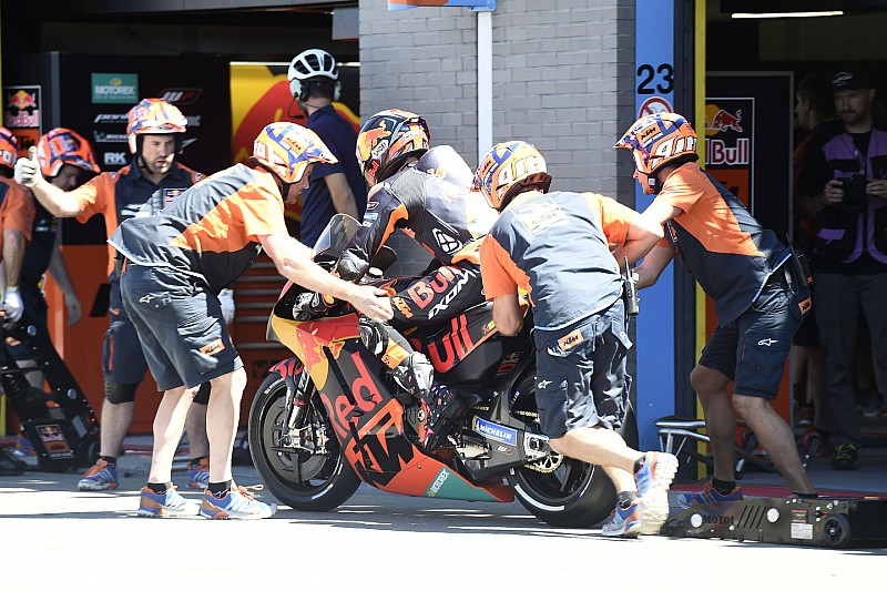 GALERI: Aksi sesi kualifikasi MotoGP Belanda