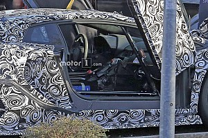 Automotive Breaking news Lamborghini Aventador SVJ interior spied from afar