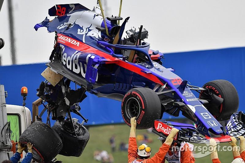 Toro Rosso 2018 im Pech: Unfälle kosteten über zwei Millionen Euro