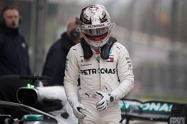 Hamilton reconoce que su rendimiento en China fue