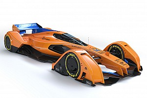 Formula 1 Top List Gallery: McLaren updates F1 future concept, the X2