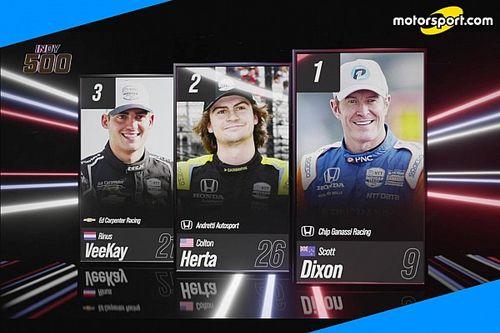 Indy 500: Dixon dalla pole in cerca del bis