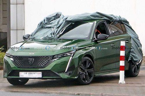 Yeni Peugeot 308 kamuflajsız olarak görüntülendi!