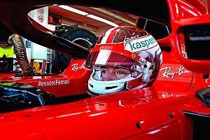 """Leclerc retorna em teste com a Ferrari: """"Foi brilhante"""""""