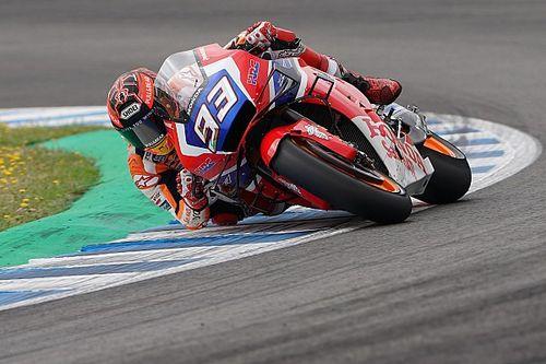 """Marquez test nieuw Honda-chassis: """"Het voelt anders"""""""