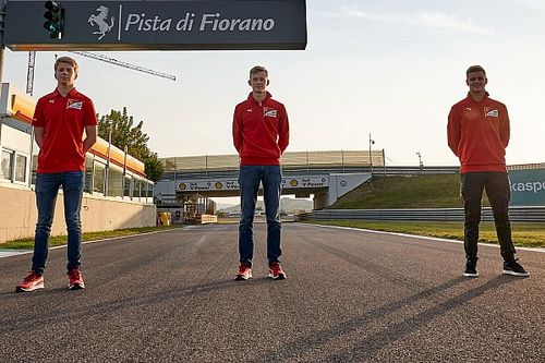 "Young driver logjam ""not a headache"" for Ferrari"