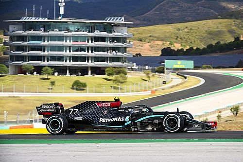 Portekiz GP 1. antrenman: Bottas lider, Mercedes 1-2