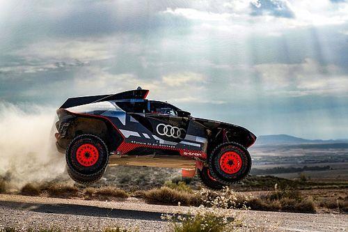 Электрокар Audi для «Дакара» испытали в пустыне. Он сломался