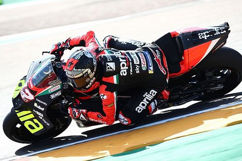 "Vinales lacking ""trust"" in front-end of Aprilia MotoGP bike"