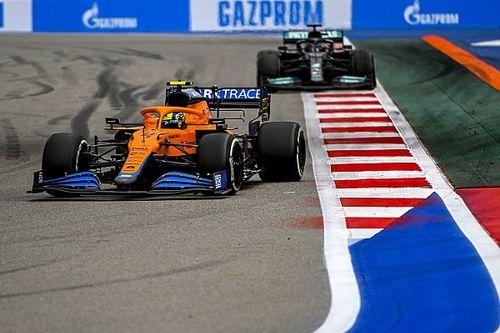 McLaren: Fue decisión del equipo mantener a Norris en pista