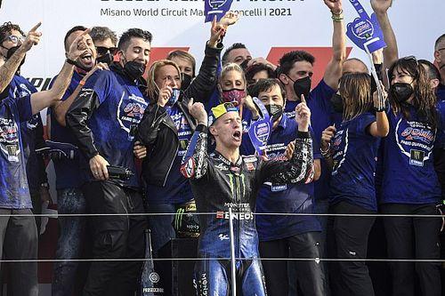 "Yamaha: New MotoGP champion Quartararo has brought ""positivity"" to team"