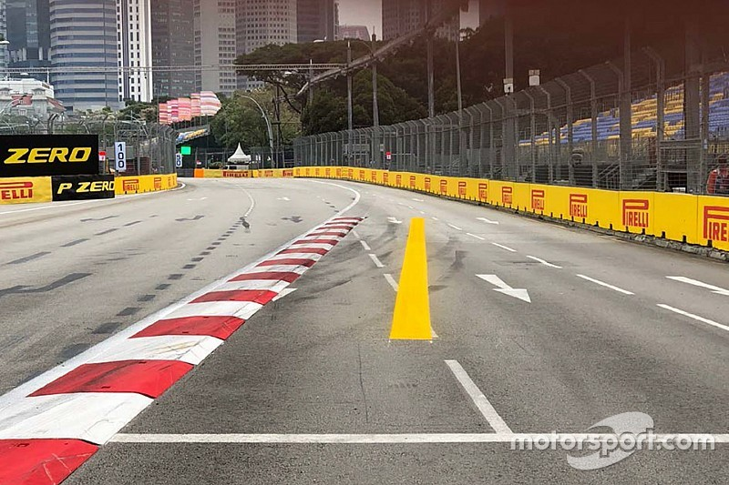 Whiting: Singapore track limits line