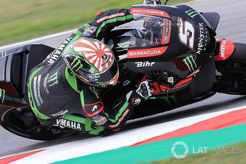 MOTO GP GRAND PRIX D'ITALIE DE MISANO 2018 Johann-zarco-monster-yamaha-t-