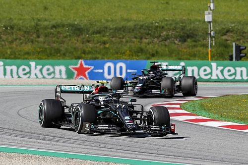 Mercedes admits W11 design has fundamental gearbox issue