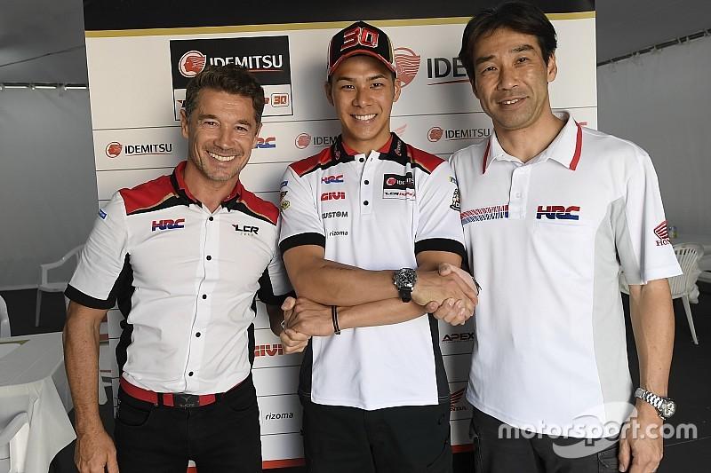 Nakagami earns LCR Honda contract extension