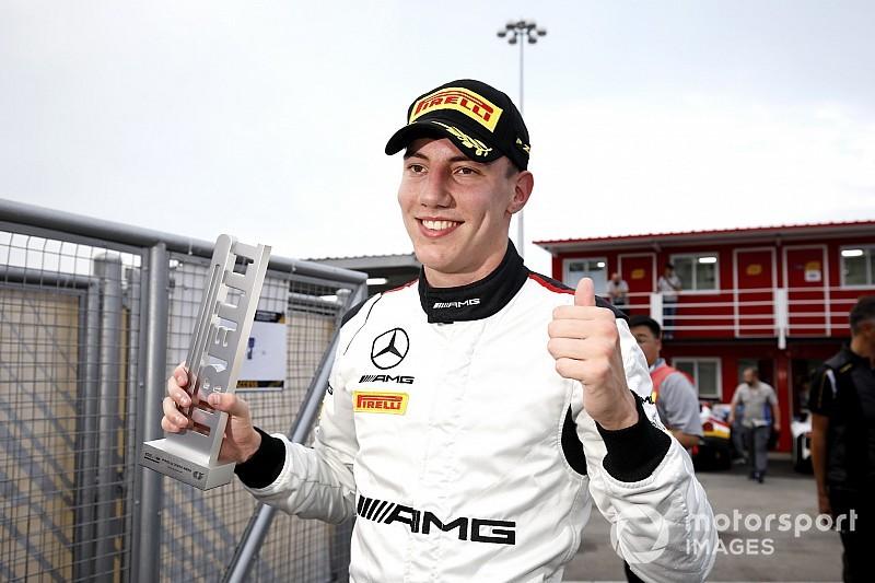 Raffaele Marciello sarà ai test di Marrakesh alla guida di una monoposto del team HWA