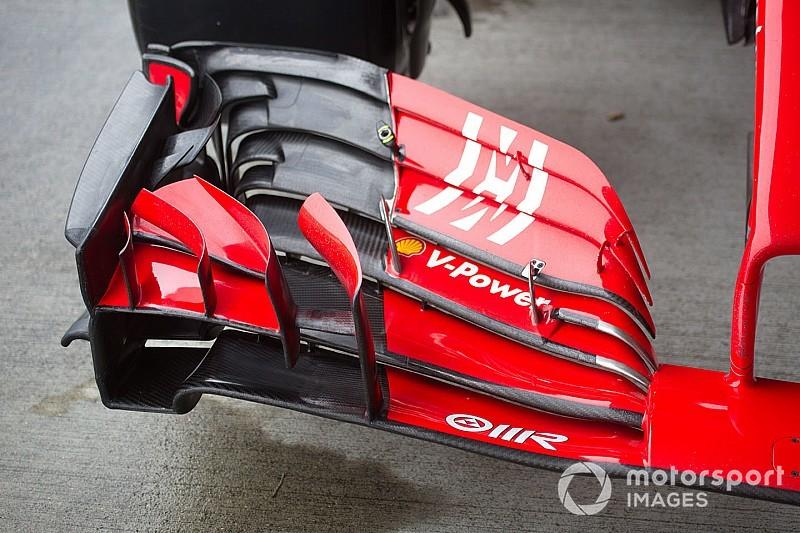 Japonya GP: Pit alanından gelen ilk teknik kareler
