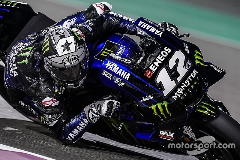 Vinales punta al podio in Qatar: