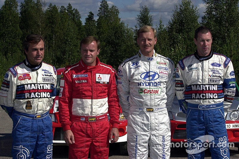 Los pilotos campeones del WRC que forman el Salón de la Fama