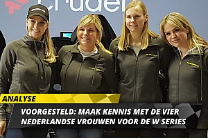 Nederlandse W Series-vrouwen optimaal voorbereid op beslissende slag