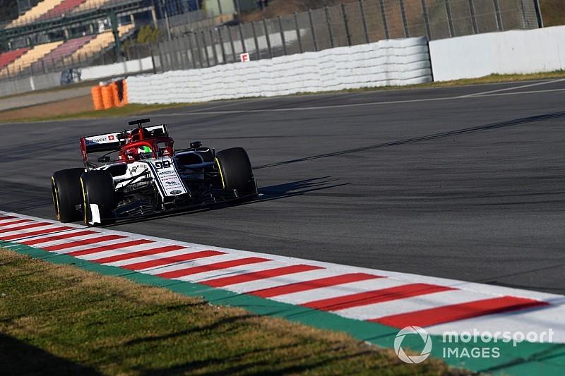 Test 2-LIVE Formel 1 Barcelona, Tag 1