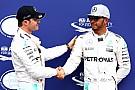 Hamilton lancia la sfida a Rosberg: