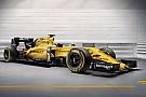 Renault F1 представила финальную расцветку 2016 года