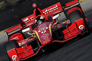 IndyCar Breaking news Rosenqvist says Ganassi IndyCar test is a memory for life