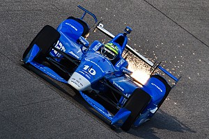IndyCar Practice report Kanaan leads first practice at Iowa
