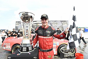 NASCAR Canada Breaking news After setting NASCAR record, Lapcevich will celebrate in Charlotte