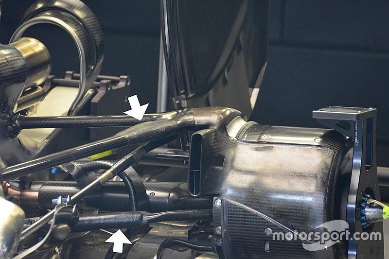 Подробно: усиленная задняя подвеска Mercedes