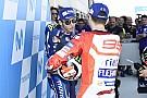 """MotoGP Rossi comenta situação difícil de Lorenzo: """"passei por isso"""""""