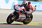 MotoGP Dovizioso no estaba preparado para correr en Aragón