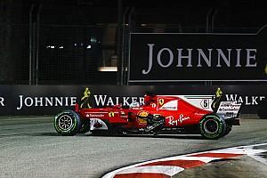 Le moteur de Vettel a survécu au crash de Singapour